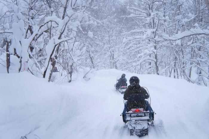 感受奔驰的快感,穿梭在白茫茫一片的雪上飞车冬季限定活动绝对不能少!