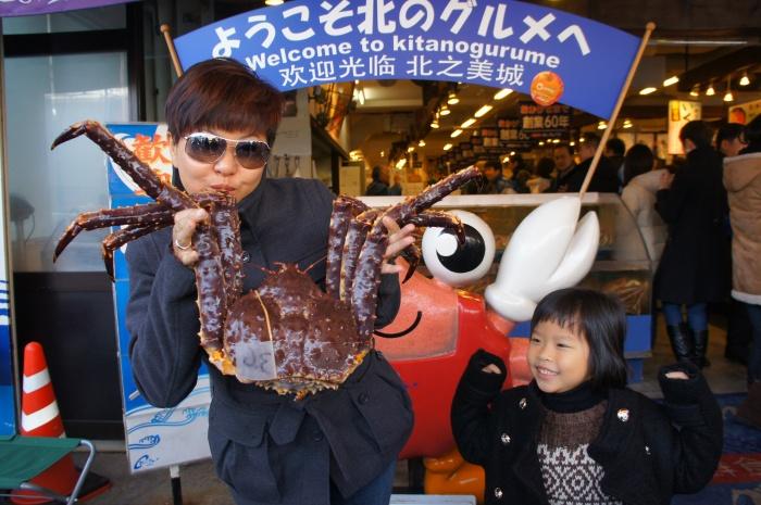 没有火鸡过圣诞不是最可惜的,可惜的是去到北海道没有品尝到鲜美的北海道海鲜之霸 -- 帝王蟹!