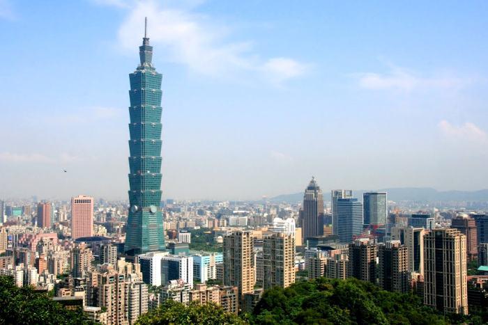 台湾的核心,也是最大的城市 -- 台北市