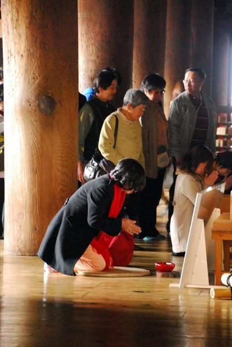 日本人本身都很喜欢来参拜。
