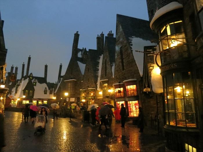 冬季的影城只营业到晚上6时。