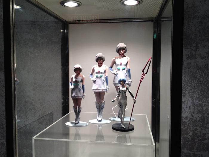 女神级要角绫波零的模型!