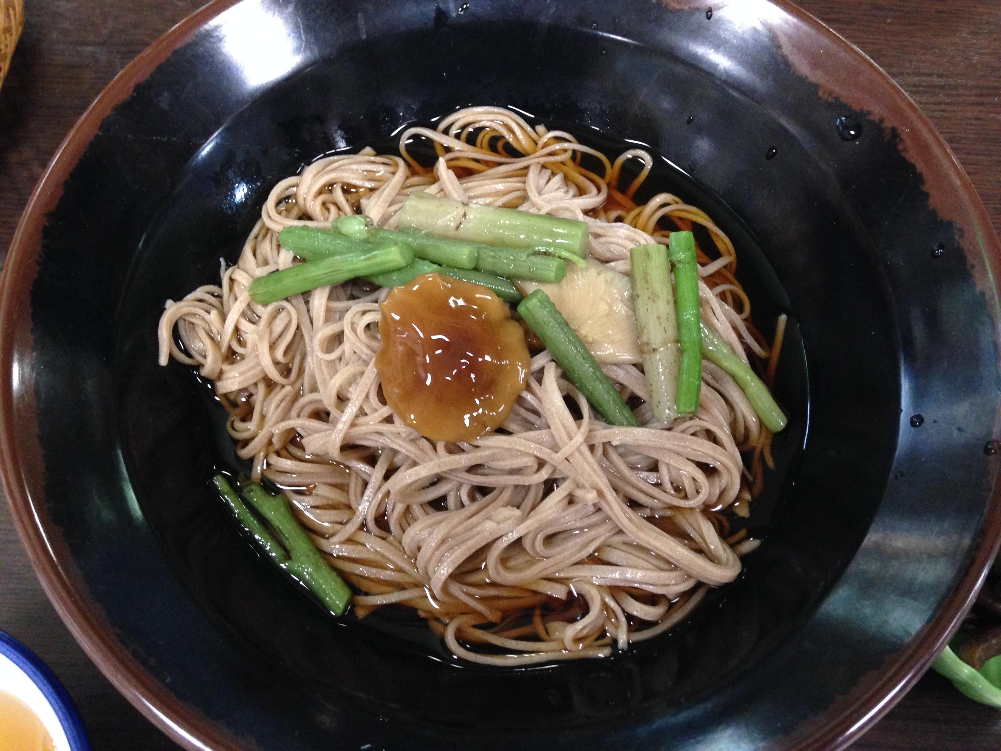 福岛县美食:尾濑荞麦面