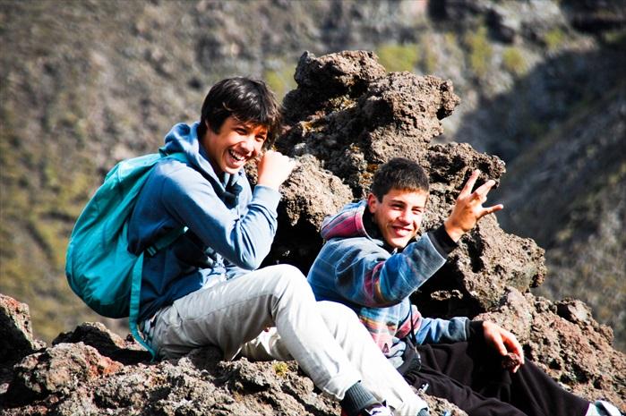 三几好友爬山健行,看来也是一件快乐的事。