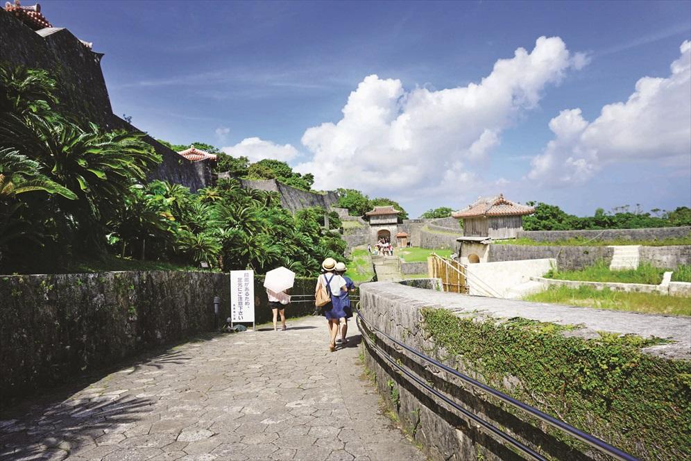 冲绳是属于阳光的。