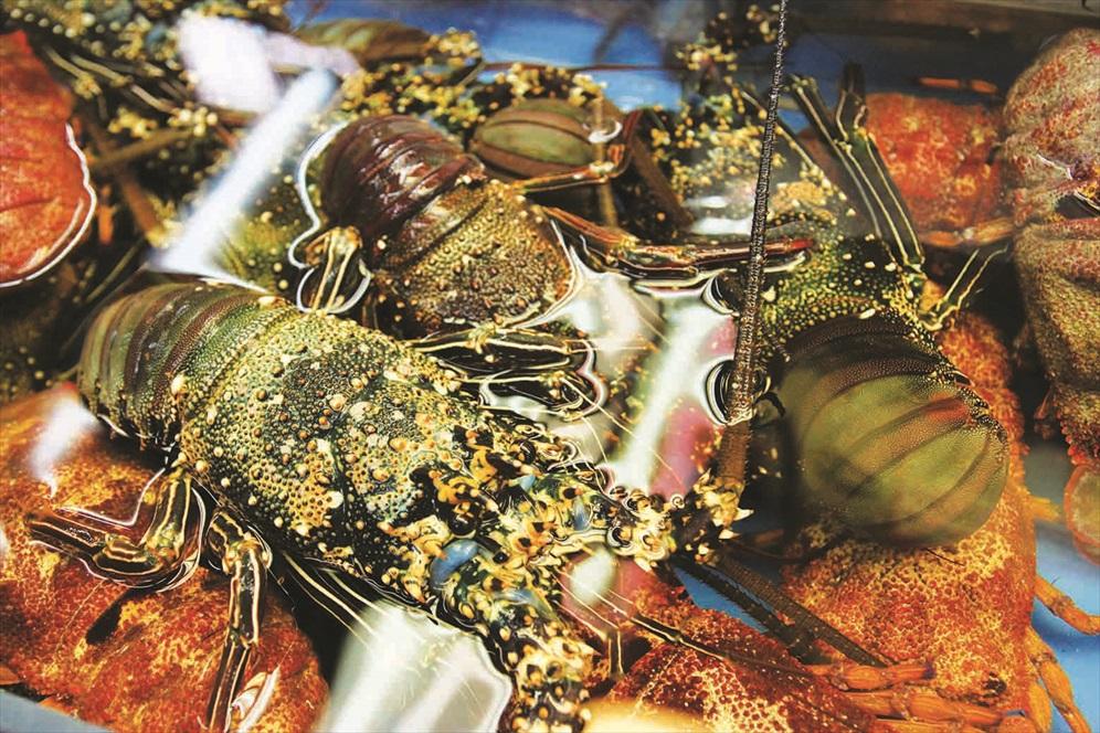 第一牧志公社市场的海鲜很鲜活,价格也较为高昂。