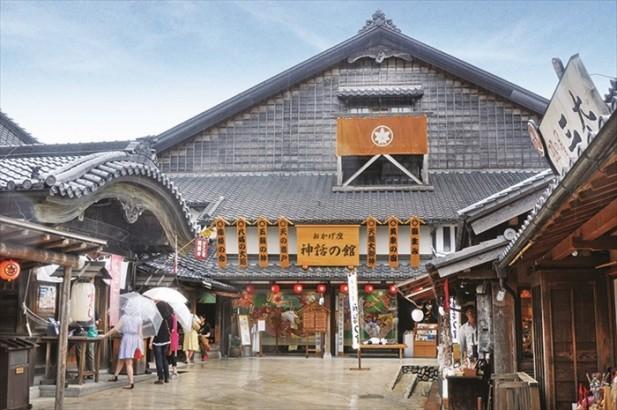 """在""""神话の馆""""可了解关于日本深化传说故事。"""