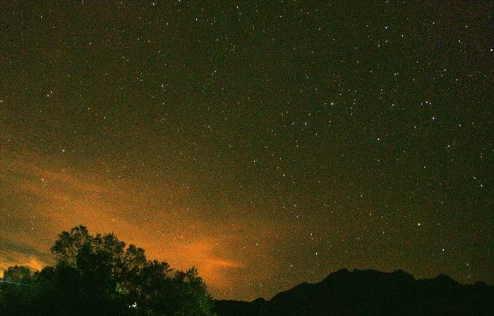 Mamut最后的营地,满满的星空欢迎我们的到来