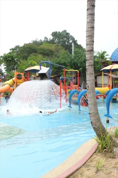 家庭小孩戏水区