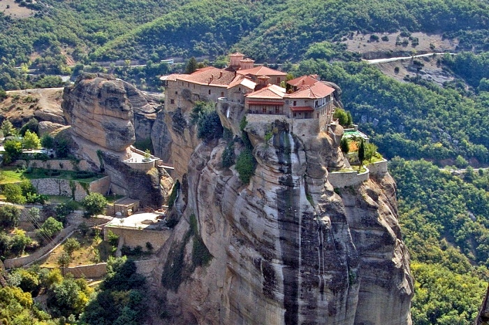 The Varlaam Monastery in Meteora is a Unesco World Heritage site.