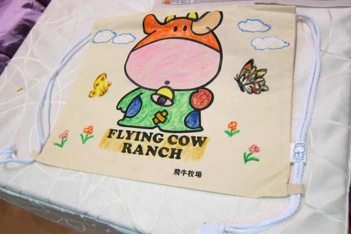 飞牛牧场DIY样品 - 彩绘环保背包