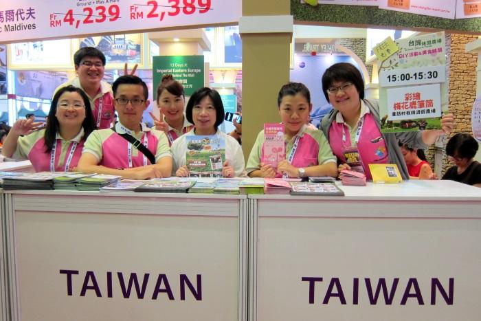 台湾休闲农场代表们在现场等着您前来询问哦!