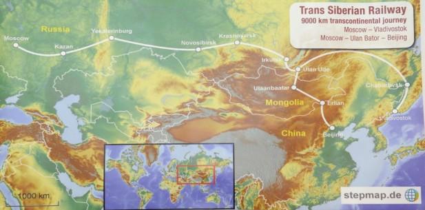 西伯利亚铁路之行