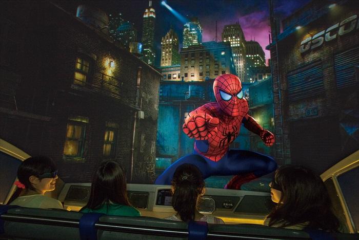 和蜘蛛人一同冒险,4K3D技术让你犹如身历其境!