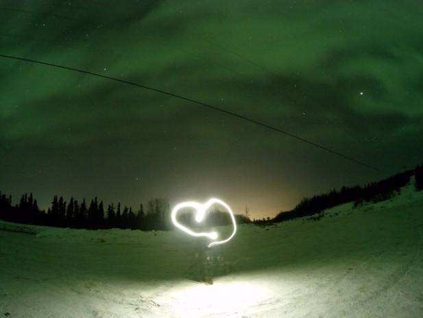 说好的幸福呢?阿拉斯加北极光会为你加持!(摄影:展皓)