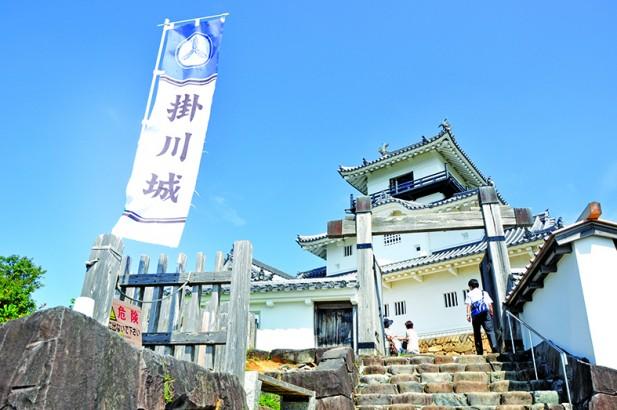 挂川城の天守阁。