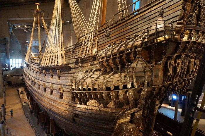 船舶的细节都被完好保存。