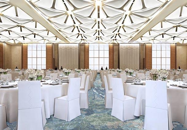 堂皇的宴会厅