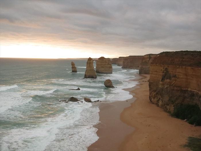 无论远观近赏,十二门徒石是大自然的绝佳风景。