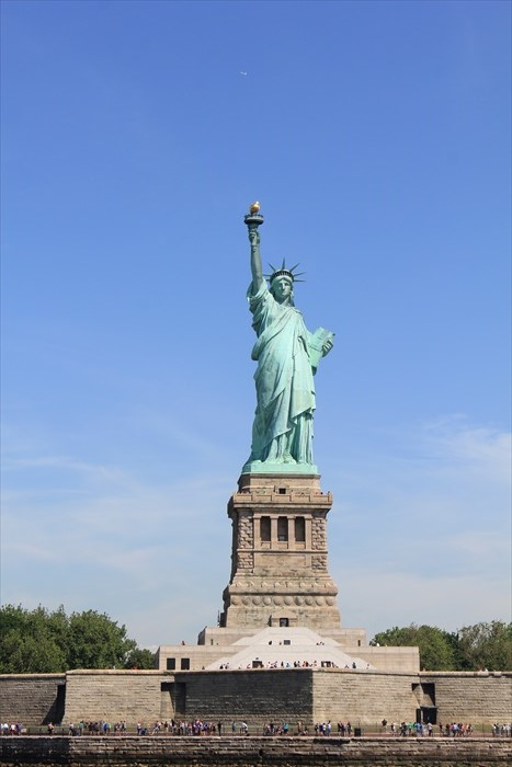 电影中的自由女神像,终于出现在眼前了!