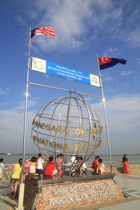 站在亚洲大陆最南端,夜里不晓得月亮会不会圆,星星是否亮一些?