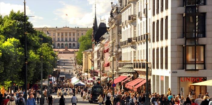 Karl Johans Gate是你不容错过的挪威走逛热点!