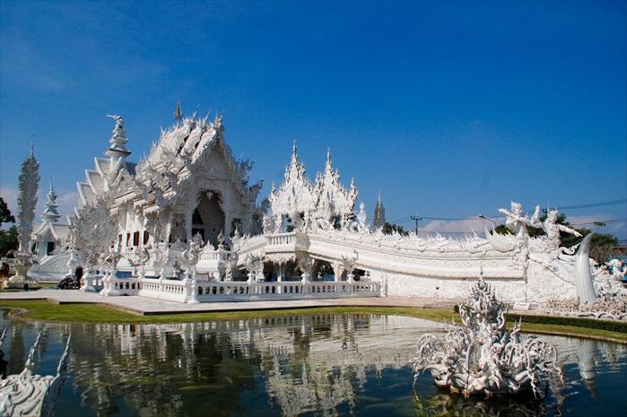灵光寺Wat Rong Khun——白庙