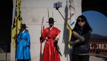 南韩禁止售卖未经核可的自拍棒。