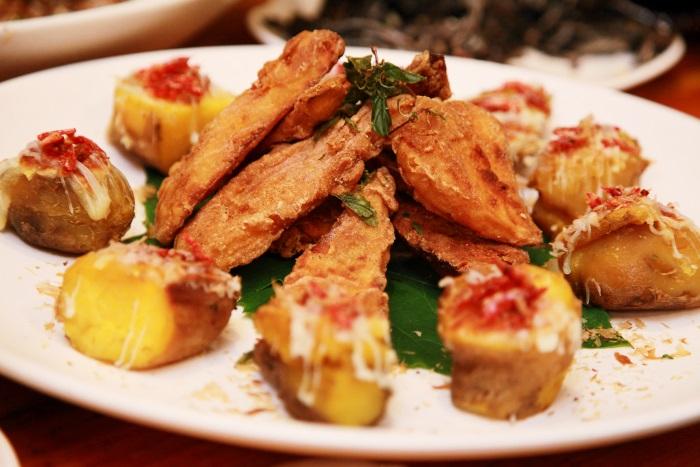 櫻花蝦焗烤地瓜