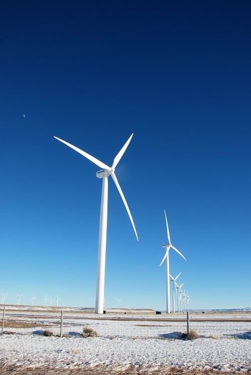 怀俄明州的风车