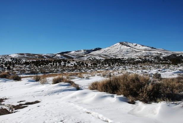 犹他州雪山