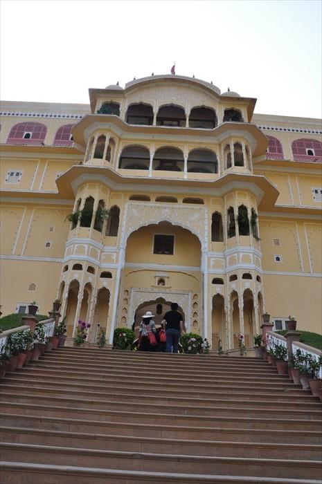 美丽的沙姆德皇宫。