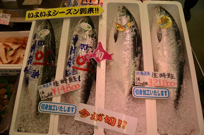 特爱走逛日本的海鲜市场,感觉一切都那么精致有趣。