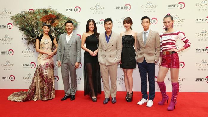 From L to R- Wilfred Lau, Anita Chui, Andy Hui, Jacky Cai, Derek Tsang