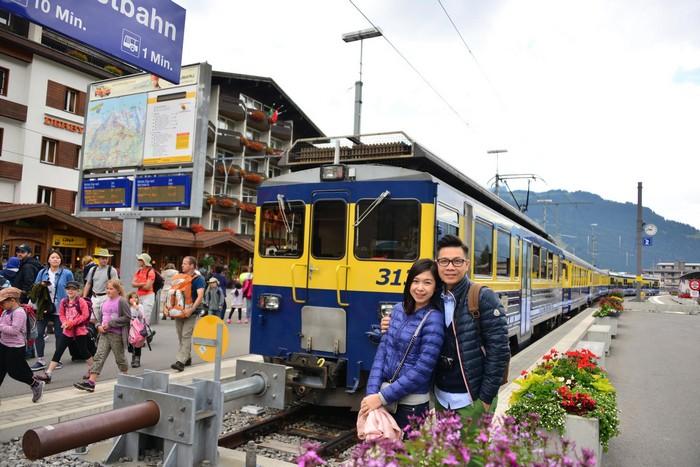 瑞士登山火车,健全网络与安全性,堪称世界之最。