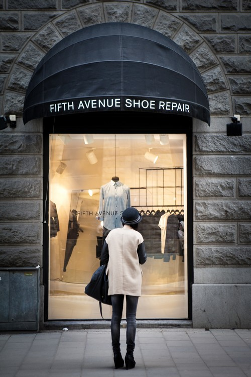 Swedish fashion lable Fifth Avenue Shoe repair