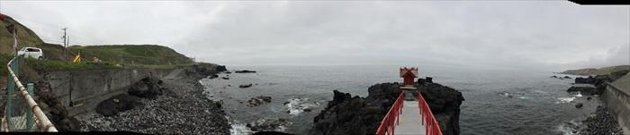 利尻岛仙法志御崎海滨公园;岛上渔民的守护者