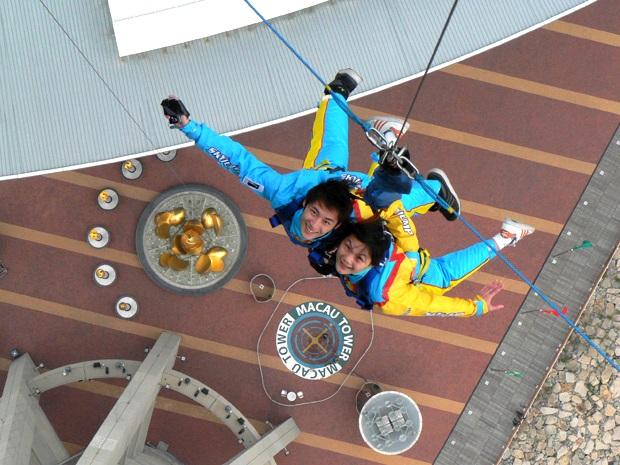 double sky jump