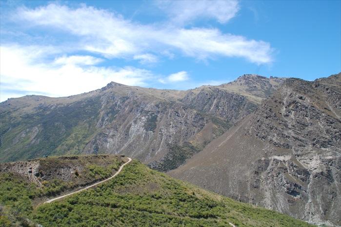 Nevis Bungy景色。