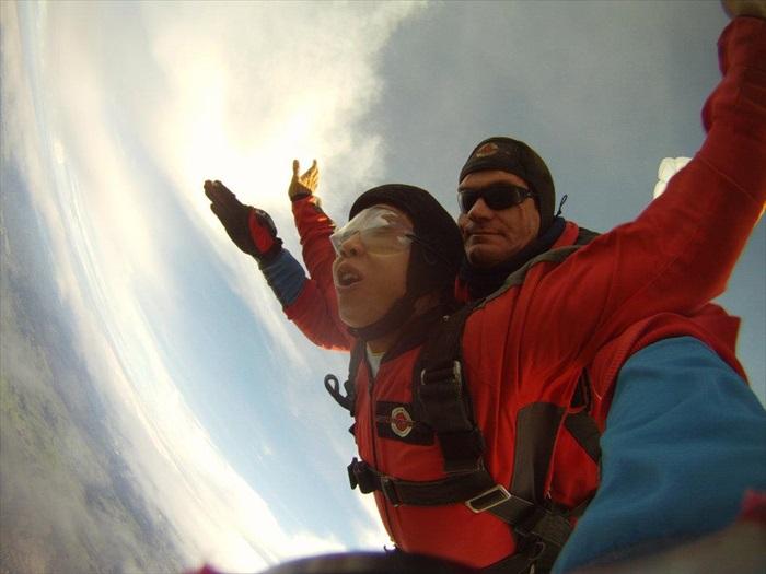 Freefall,完全感受飞翔的感觉。