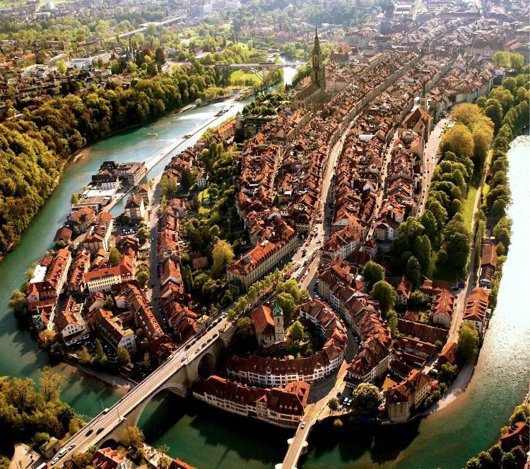 1191年,柴林根家族利用阿勒河形成的半岛状地带,创建了伯尔尼城。