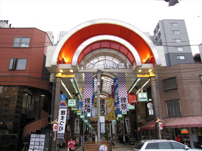 狸小路,和心斋桥一样都是好逛之极的购物街。