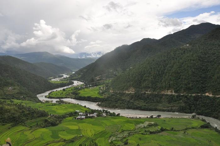 一片幸福快乐的净土 --不丹。