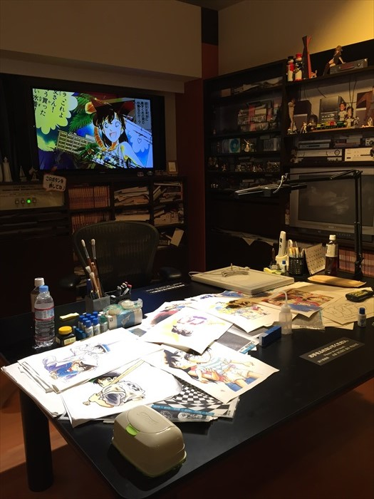 青山刚昌故乡馆内设有青山刚昌的模拟工作室,漫画迷铁定会激动不已!