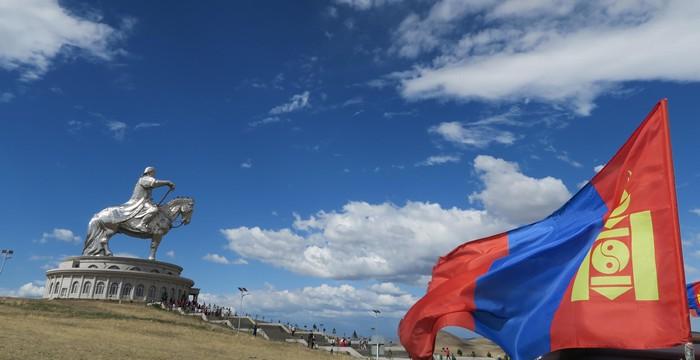成吉思汗铁木真,是蒙古开国皇帝,在位22年。