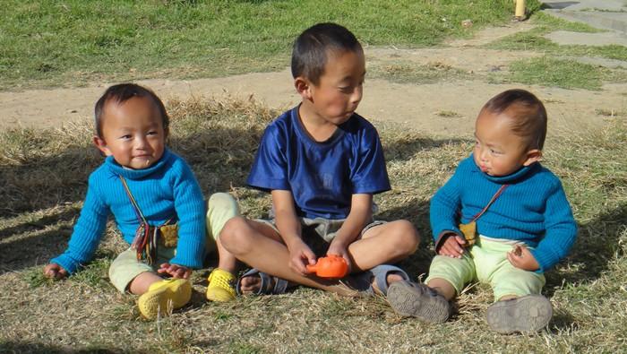孩子们真切的笑容,你多久没笑了吗?