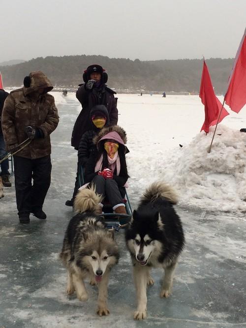 一系列的冰上活动让你玩得不亦乐乎!