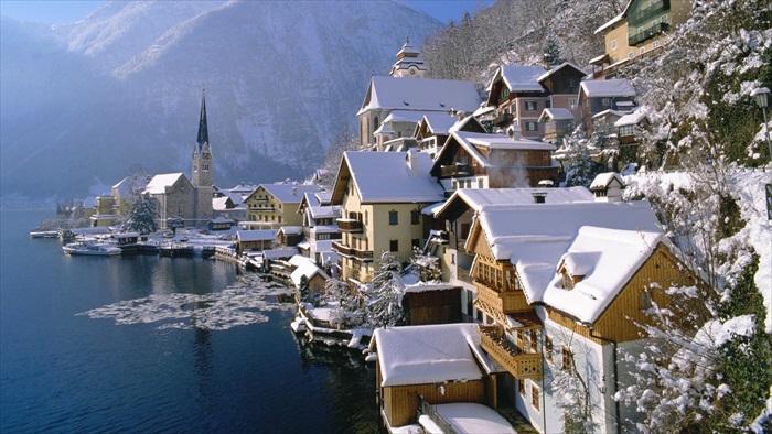 冬天的景致也别有一番风味。