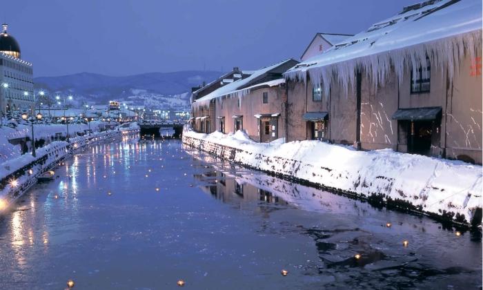 小樽运河 (Otaru Canal)