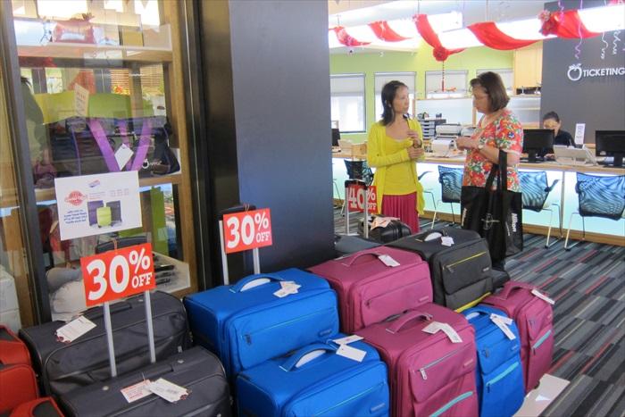行李箱优惠活动